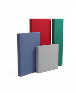242 Acoustic Panels in many shapes and colors