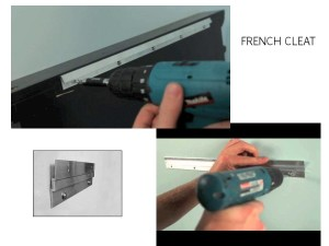 French Cleat Installation