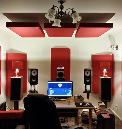 acoustic panel home studio