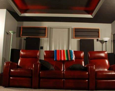 GIK Acoustics QRD on back wall