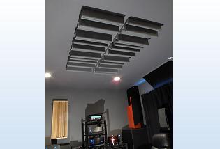 GIK GridFusor in Ceiling