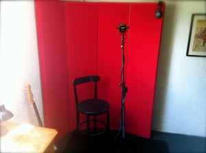 Portable Vocal Booths, Vocal Shields