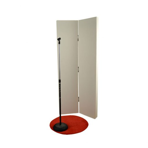 Screen Panel for Recording Vocals by GIK Acoustics Tall Recording Screens in 15 standard colors