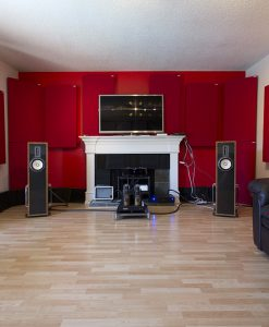 Home Theater treated with GIK Acoustics