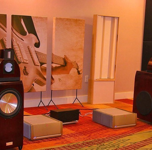 GIK Acoustics Art Panel Trade show