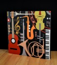 GIK ArtPanel jazzy instruments