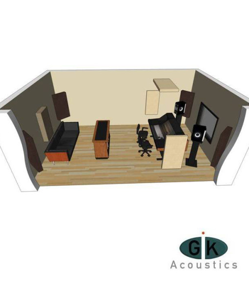 GIK Acoustics Room Kit 1 sq
