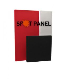 Spot panel 2 inch acoustic panel in various sizes and colors