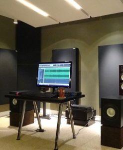 JustMastering front wall GIK Acoustics