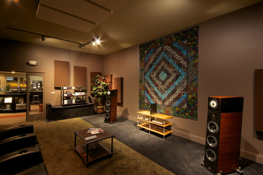 Overture Audio's Studio C Photo Credit: Larry Maciag, Fulcrum Design+Build, LLC