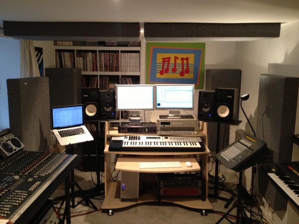 Jody Wisternoff Studio 1 GIK Acoustics
