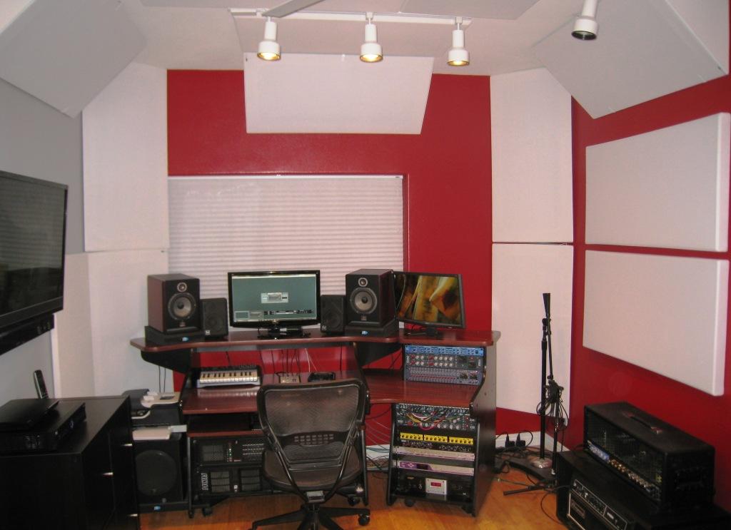 Mike Plas Studio 3 GIK Acoustics