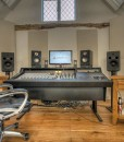 Crooks Hall Studio GIK Bass Traps