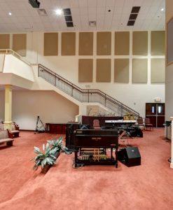 absorption panels church acoustics