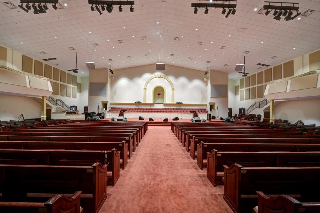 church acoustics sanctuary
