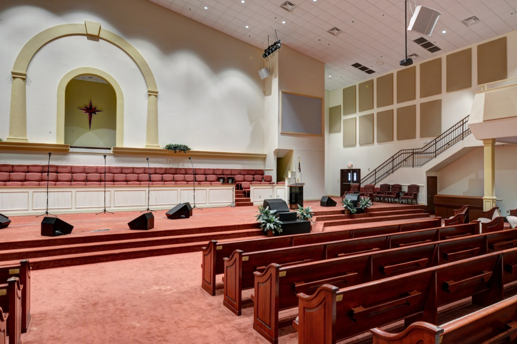 absorption panels church acoustics
