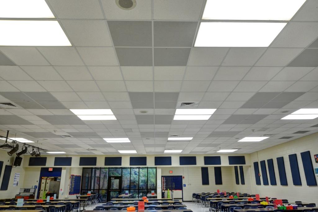 school acoustics cafeteria GIK Acoustics