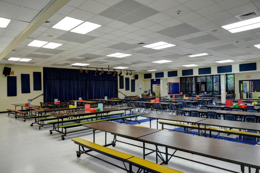 School acoustics spot panel