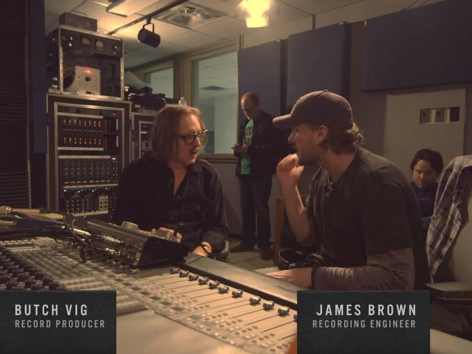 ACL Control Room Butch Vig James Brown GIK Acoustics