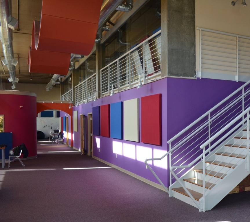 GIK acoustic panels common area