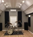 Justin Vidal home studio GIK Acoustics 242 Acoustic Panels