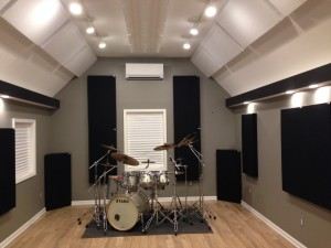 GIK Acoustics bass traps and acoustic panels