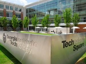 GA Tech Scheller College of Business exterior GIK Acoustics