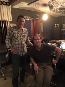 Glenn Kuras with Mastering Engineer Stephen Marsh
