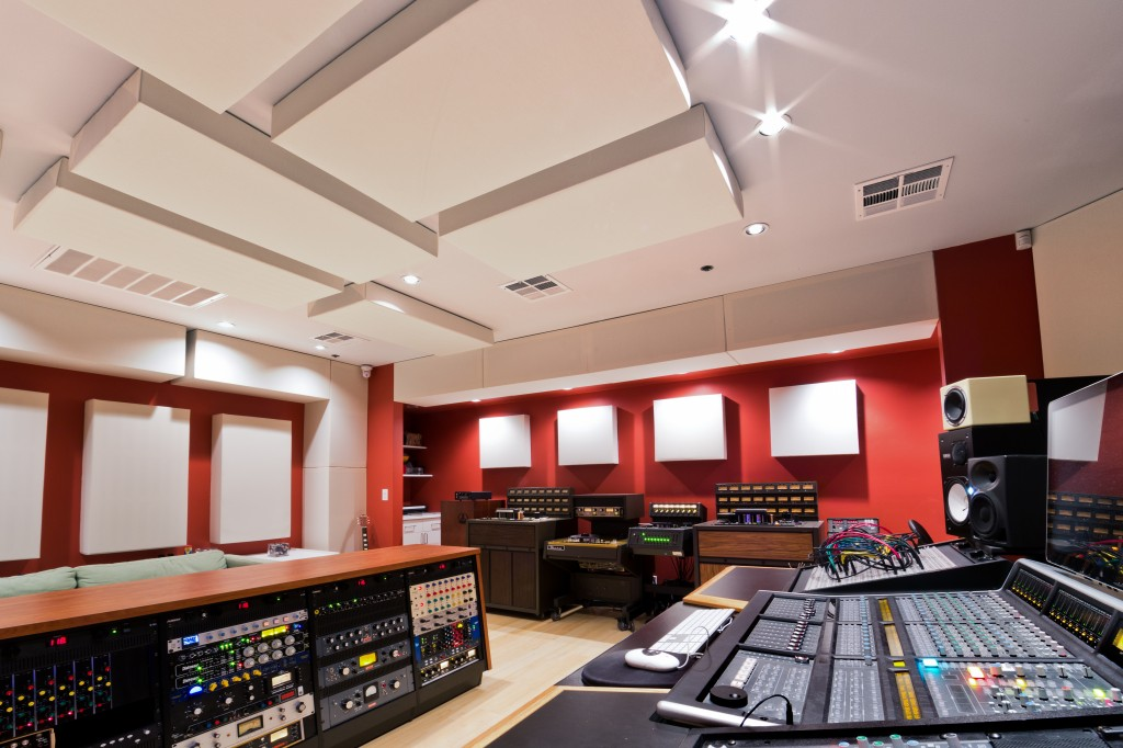 Lost Ark Studio Control Room GIK Acoustics