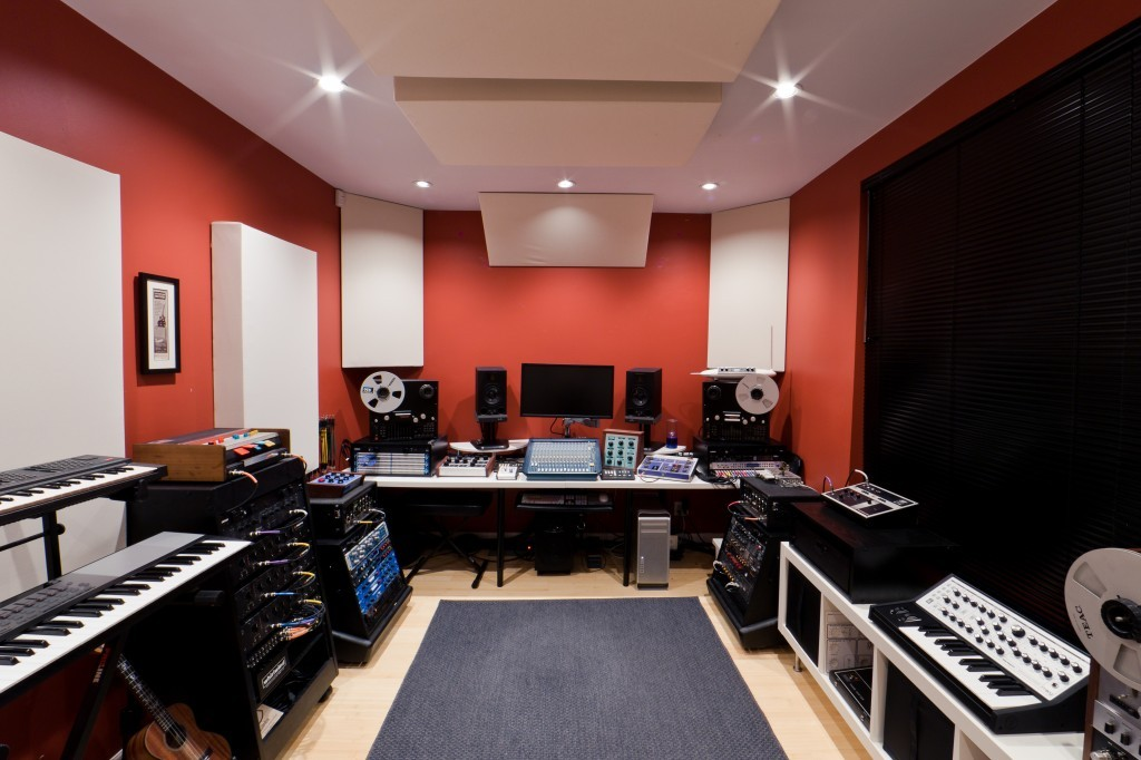 A Well-Balanced Audio Room Using GIK's Patented Treatments -