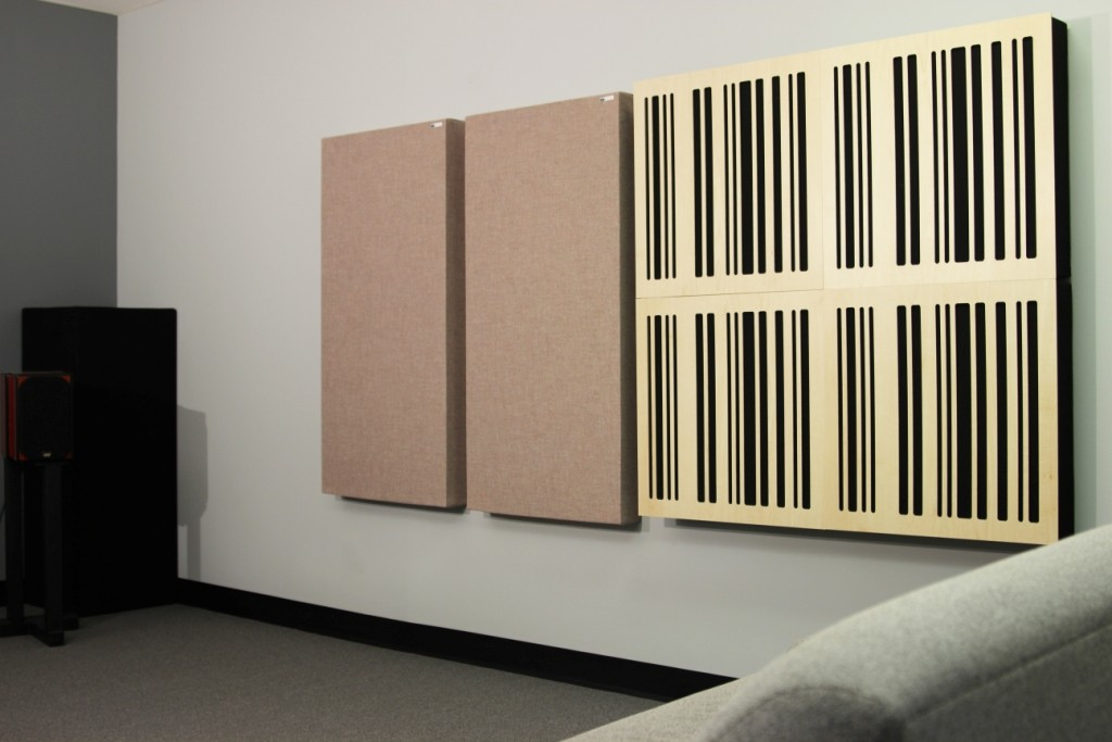 4A Alpha Panel group w 242 Acoustic Panels sidewall