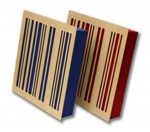 GIK 4A Alpha Panel red blue