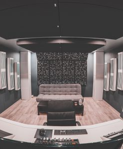 Amazing Studio Design by Loic Allievi using Alpha Series Acoustic Panels and Bass traps