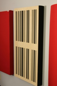 GIK Acoustics 24x48 4A Alpha Panel mounted on wall