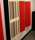 GIK Acoustics 24×48 6A Alpha Panel mounted on wall
