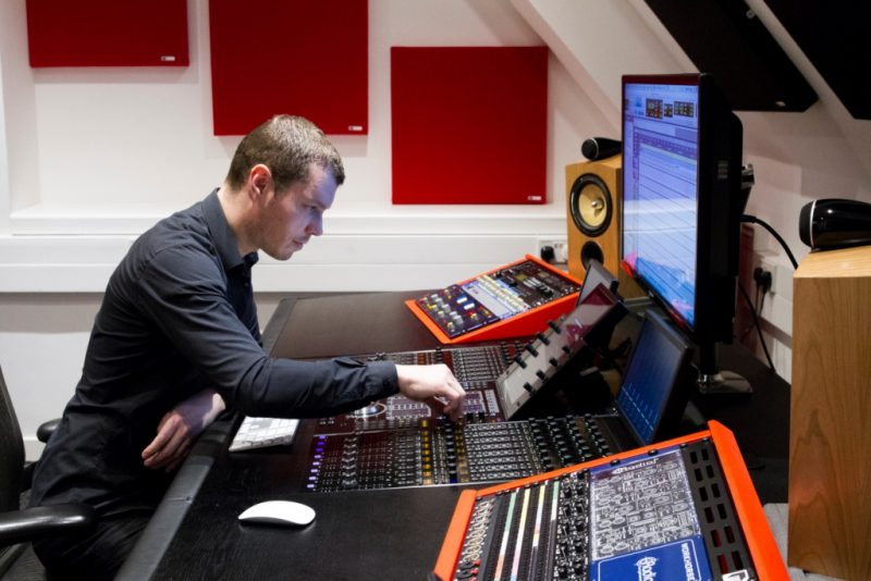 Abbey Road Ins S6 Studio GIK Acoustics Spot Panels