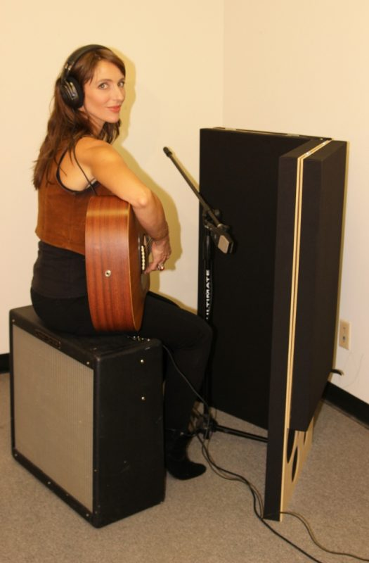 PIB (Portable Isolation Booth) for recording guitars