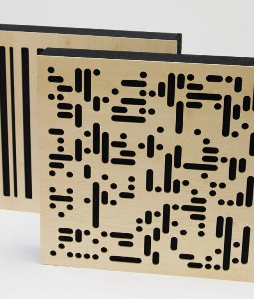 GIK 4A Alpha Panels 1D scattering and 2D scattering