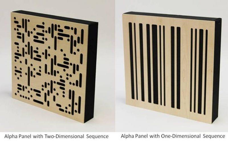 GIK Alpha Panel 2D and 1D options