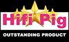 hifi pig Outstanding Product logo