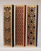 Impression series GIK Acoustics narrow decorative acoustic panels