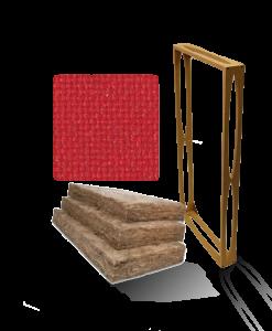 DIY Acoustic Panel Bass Traps Supplies