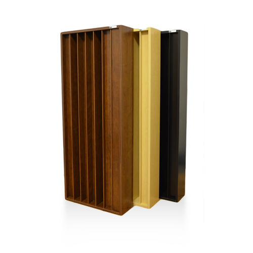 GIK Acoustics Q7D diffusors are used for scattering high frequency content and making the room sound bigger.