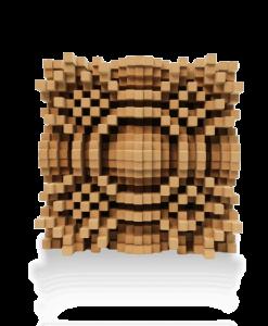 Gotham n23 5 inch Quadratic Diffusor GIK Acoustics sound diffusor