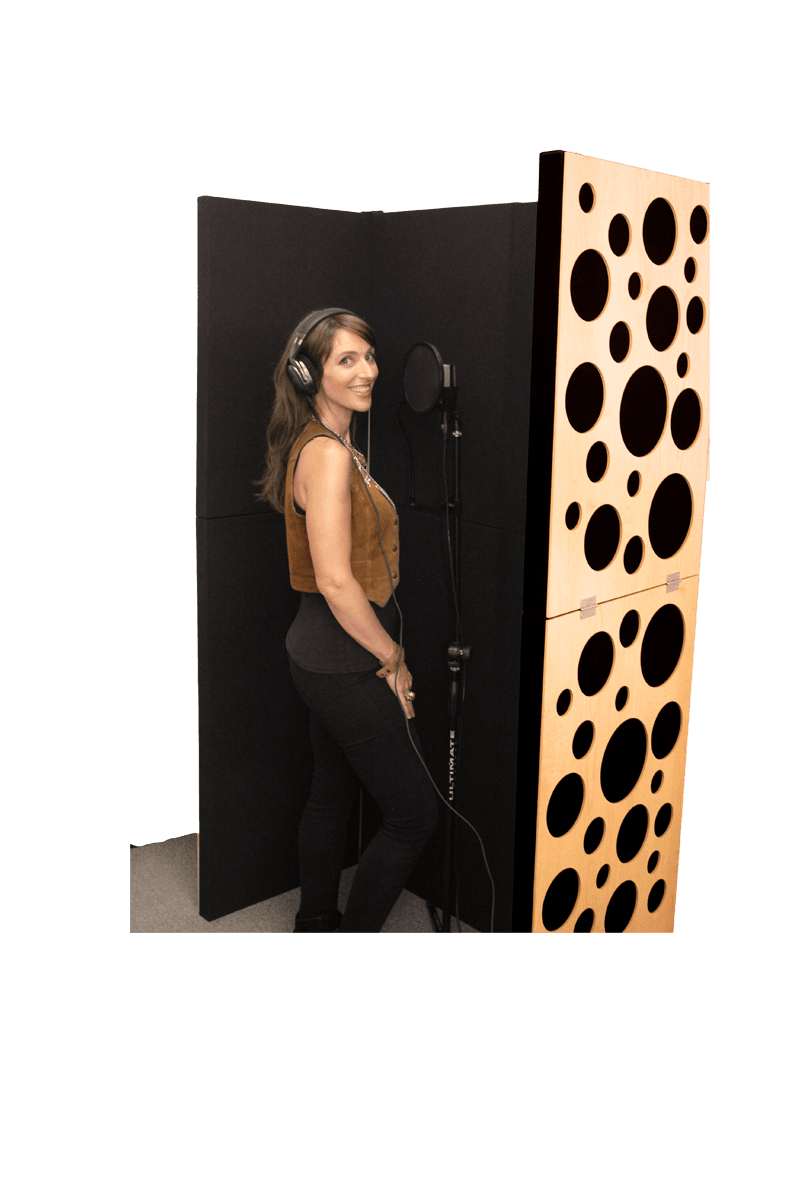 Portable Isolation Booth vocal booth by GIK Acoustics