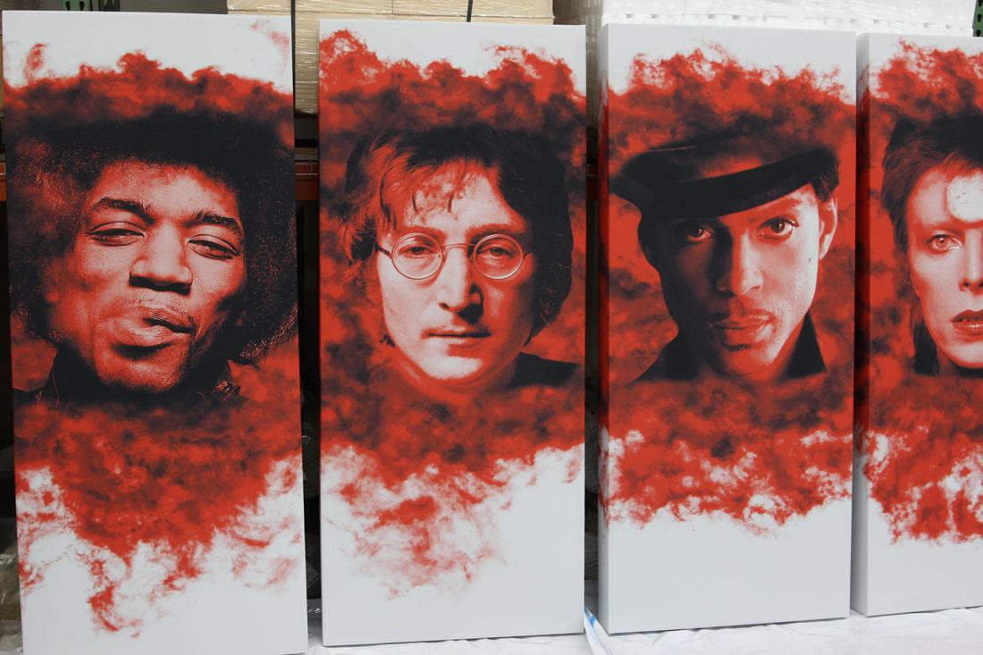 Gikacoustics artpanel acoustic panel singers