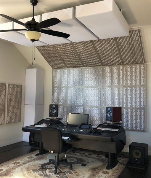 Zac Studio GIK Acoustics Impression Series Gray Mod GEO Gray elm