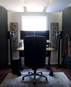 Ben Mesick Alpha 2da series and studio bass traps