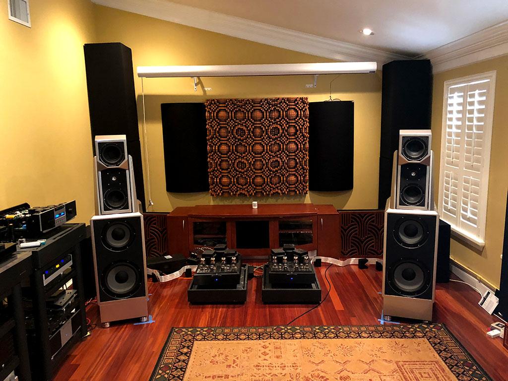 Dave Eusanio GIK Acoustics soffits impression series and gotham diffusors