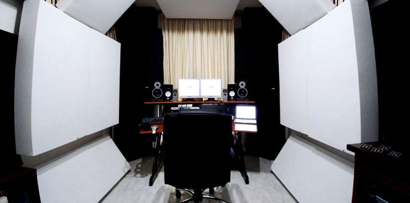 GIK Acoustics Monster Bass Traps Luigi Lusini